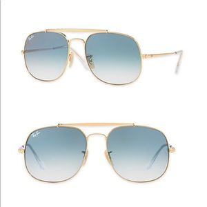 Ray-Ban 57MM General Square Sunglasses